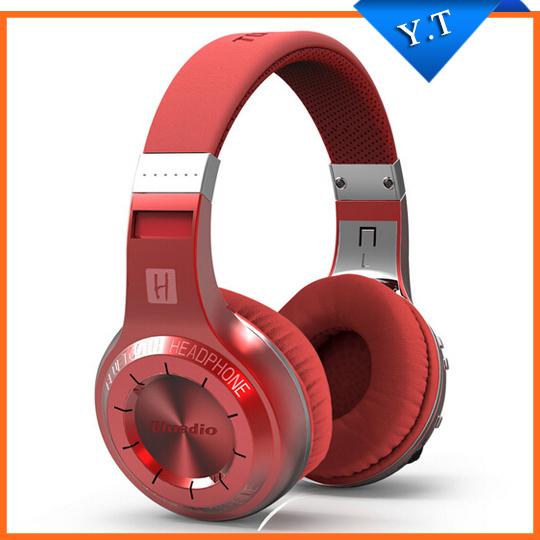 New Original Bluedio 57mm Powerful Bass Stereo Bluetooth V4.1 Wireless Headphone Bulit-in Micro