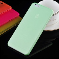 Plastic Case for iPhone 6 case 4.7 0.3mm Crystal Clear Soft Plastic Shell Ultra Thin Cover  for iPhone6 i Phone6 Case celular