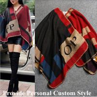 New Autumn Winter Wool Coat Women's Fashion  Ladies' Noble Elegant Cape/Shawl ladies Poncho Wrap Scarves Coats  A195