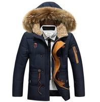 2015 winter men long down jacket Nagymaros collar down jacket men thick coat winter coat men casual menswear brand free shipping
