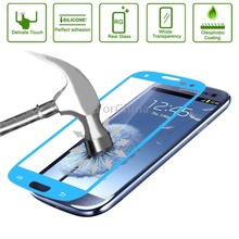 Anti-Bubble Link Dream Tempered Glass Film Spare Parts Protector for Samsung Galaxy SIII / i9300 Spare Parts(Blue)