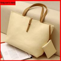 Hot! Vintage Simple PU Leather Bag Handbag Candy Color Fashion Lady Ladies  Shoulder bag Women's Messenger Bags Tote