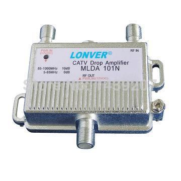 Free Shipping MLRDA-101-MA 1-PORT BI-DIRECTIONAL CABLE TV HDTV AMPLIFIER SIGNAL BOOSTER WITH PASSIVE RETURN PATH DROP AMPLIFIER(China (Mainland))