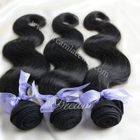 6A grade peruvian virgin hair body wave 3pcs lot free shipping natural black hair peruvian loose wave