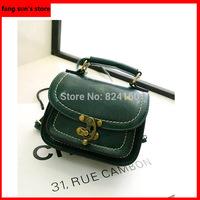Free shipping 2014 New European And American Retro pu leather  HandBags   shoulder diagonal package female bag handbag Tide