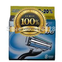 Free Shipping  High Quality 16P/L Men's Razor Blades TURBO sharpener shaving razors series blades RU&Euro Retail packaging