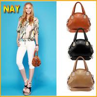 Real Leather Bags Casual Bag Women Handbags Tote Shoulder Bag Cowhide Leather Handbag 2015