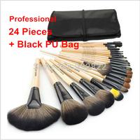 Wholesale 2014 HOT Sale Professional 24 pcs Makeup Brush Set tools Make-up Brand Make Up Brush Set Case