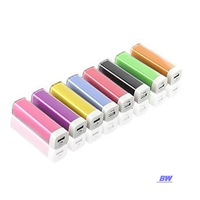 2600 mAh Universal Portable Power Bank External Emergency Backup Battery Charger For All Mobile Phone USB LED