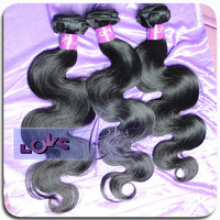 6A Brazilian Virgin Hair Body Wave 3pc/lot 100% Unprocessed Brazilian Human Hair Weave in Natural Color Virgin Hair Bundle Deals