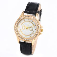 Free shipping 2014 new fashion  brand LOGO 100% brand Quartz watch Women quartz casual dress watches military watch relogios(China (Mainland))