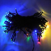2M 100 led Water-proof Solar Christmas Party Wedding Garden Decor Xmas LED Fairy String Lights