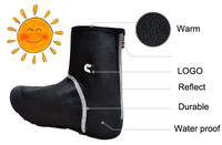 CHEJI thermal fleece material special winter water proof cycling shoes cover cycling 2014 black sidi all in stock free shipping