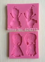 Silicone Mold Fondant silicone molds Cakes Decoration Sugar Craft Tool baking tools cake tool-P223
