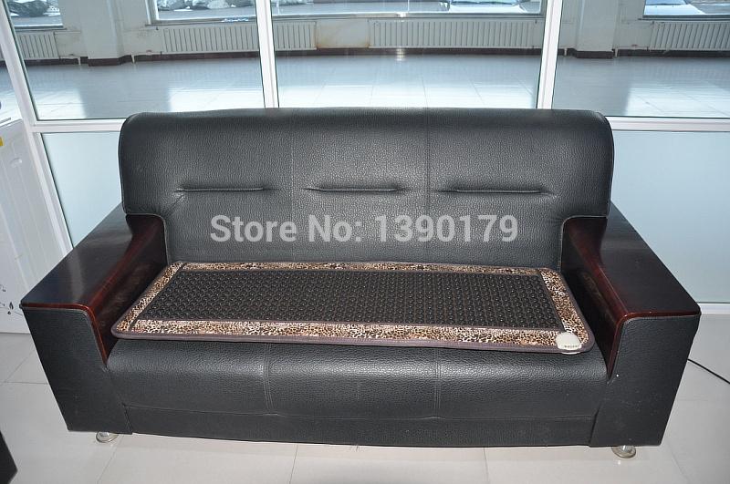 Black leather germanium sofa cushion(China (Mainland))