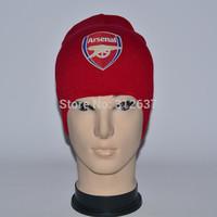 26 Teams Real Madrid beanies caps sport Football high elasticity knit hats souvenirs diamond supply wholesale