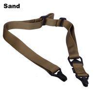Tactical Quick Detach Release Gun Sling System 8 Colors Airsoft Gun Sling (#3) Sand