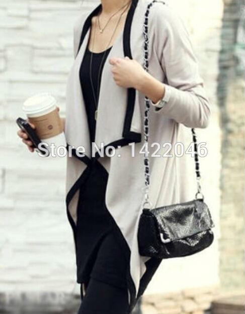 Womens Shirts knitted cardigan Women shirt European & American shirt Swallow tail irregular turn-down collar clothing WSHoo63(China (Mainland))