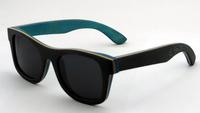 Men brand design wood bamboo glases vintage retro style with no logo wayfarer sunglasses uv400 protection Z68041