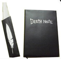 New & Hot Sale Death Note Notebook + Feather Pen Book Japan Anime Writing Journal