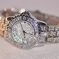 2014 New High Woman Dress Watches Quality Austrian Crystal Luxury Woman Rhinestone Watch Woman Female Gift Watches Drop Ship
