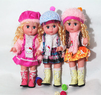 33-35cm music singing dolls for children Educational Toys for girls baby doll Christmas New Year gift
