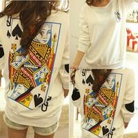 Hot sale T Shirt printed sweatshirt Sport Suit casual Tops Women Hoodies Long Sleeve Ladies Cotton Autumn Spring Female B16