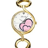 Hot grady brand wristwatch stainless steel fashion watch women free shipping