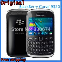 100% Original Unlocked BlackBerry Curve 9320 Mobile Phone 3.15MP Camera 2048x1536 pixels ROM 512 MB Free Shipping