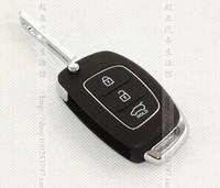 Hyundai new Santa Fe , IX45 car 3 button folding remote key 433mhz with ID70 chip