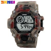 Men Military watches Sports Dress Wristwatches Skmei Brand LED Digital Chronograph Swim Dive Multifunctional Watch 2014 New