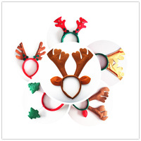 2014 Christmas Headwear New Year Christmas Gift Headband Children Christmas Decoration Free Shipping