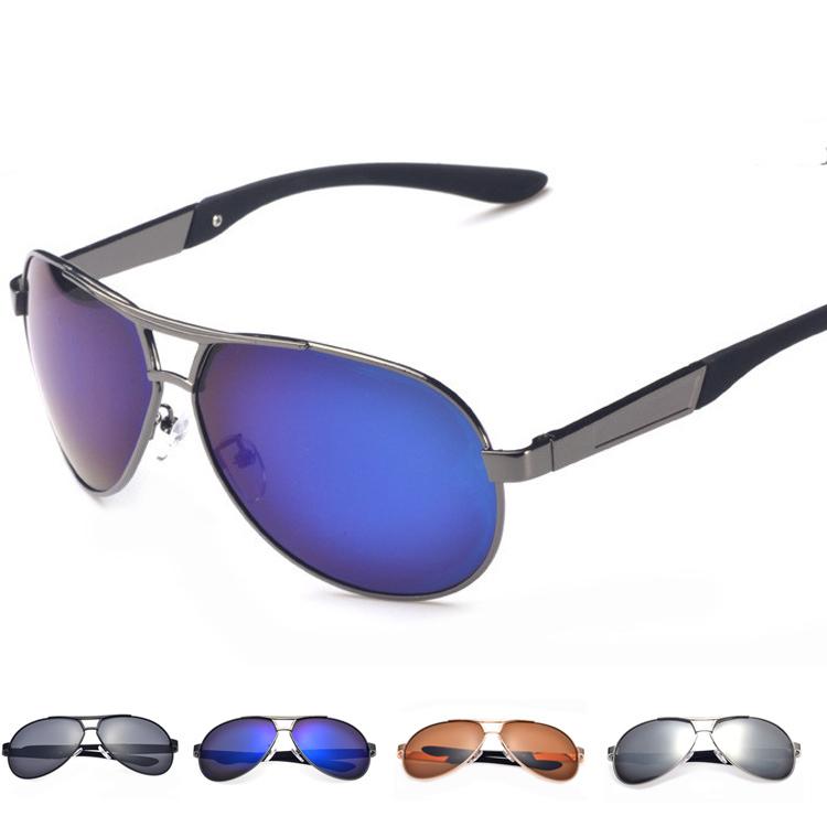 UV400 Polarized Sunglasses 2014 New Fashion Driving Aviator Mirrors Eyewear Oculos Sun Glasses for Men Women(China (Mainland))
