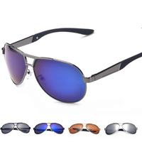 UV400 Polarized Sunglasses 2014 New Fashion Driving Aviator Mirrors Eyewear Oculos Sun Glasses for Men Women