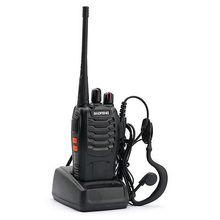 BF-888S UHF 400-470 MHz Handheld Walkie Talkie 2-way Amature Ham Radio