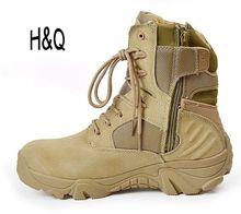 Hommes militaire bottes Delta désert tactique bottes de Combat chaussures noires en plein air automne hommes escalade taille 39 - 45 chaussures hommes A1097(China (Mainland))