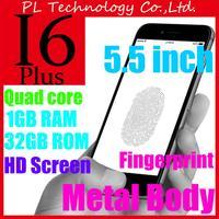 DHL free shipping Goophone i6 plus 5.5 inch phone i6 phone MTK6582 Quad core MTK6572 Dual core 1G RAM 16G ROM Android 3G WCDMA