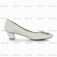 Top Quality Brand New Rhinestone Handmade Crystal Spring High Heeled Sneakers Closed Toe Rhinestone Pvc Wedding Butterfly Flats