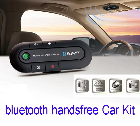 Neue 2015 multipoint freisprecheinrichtung bluetooth freisprecheinrichtung v3.0 zelle handy car kit Styling versandkostenfrei