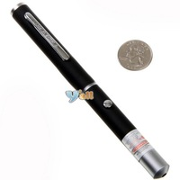 Free Shipping Wholesale Red Laser Pointer 35mW 650nm Ultra Powerful Mid-open -E00049