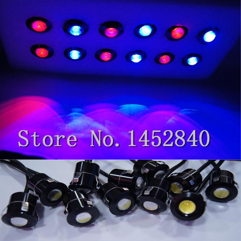 Drag car LED strobe for Hawk-Eye meteor shower a 12 led car fog lights parking light brake light turn signal lamp yellow red(China (Mainland))