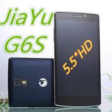 "Free Shipping JIAYU G6S Android4.4 MTK6592 2GB RAM Octa Core 5.5"" 3400mAh Dual sim 1.7GHz 1920*1080P 16.0MP Unlock G6 Cell Phone(China (Mainland))"