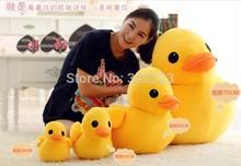 Length 30 cm Hong Kong Rubber Duck Plush Toys Gifts for girls or kids plush pillow Free shipping(China (Mainland))
