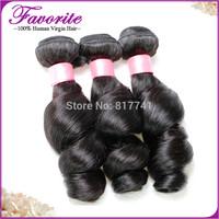 Ali Favorite Human Hair Peruvian Virgin Hair Weaves 3 pcs/Lot  Loose Wave Peruvian Virgin Hair Extension ,  Human Hair Bundles