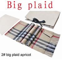 cashmere scarf Man and women's designer big plaid scarf  Free shipping (180*32cm)