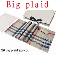 cashmere scarf Man and women's designer big plaid scarf  Free shipping (180*32cm)