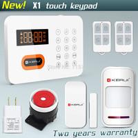 Free shipping!KERUI Home alarm systems PSTN Keypads Burglar Alarm System LCD Auto Dialer 120 Zones Landline Wireless System