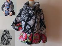 New  winter jacket women Famous Brand  DESIGUAL free ship winter women coat 2014 new brand fashion slim design  Factory original