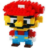 LOZ Blocks Diamond Building Blocks Action Figure Super Mario Minions 3D Bricks Toys Education Compatible With Lego