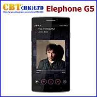 Original Elephone G5 Mobile Phone 5.5 inch IPS 1280*720 MTK6582 Quad Core 1GB RAM 8GB ROM Dual Camera 13.0MP GPS OTG FM WIFI